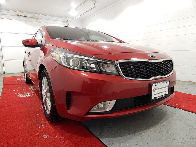 Certified Pre-Owned 2017 Kia Forte S W/TECHNOLOGY PACKAGE