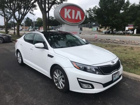 Pre-Owned 2015 Kia Optima EX W/PREMIUM PACKAGE!!!