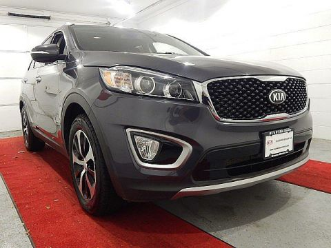 Pre-Owned 2017 Kia Sorento EX V6 W/3RD ROW SEATING AND THE PREMIUM PACKAGE!!!